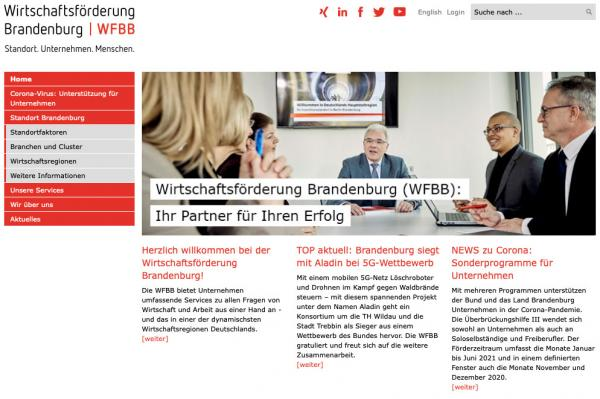 Screenshot wfbb.de